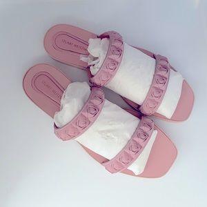 Stuart Weitzman Rosita Sandal - Dusty Pink